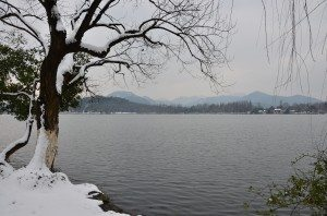West Lake in Winter
