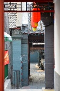 Alley off Hutong