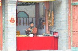 Flautist at Summer Palace